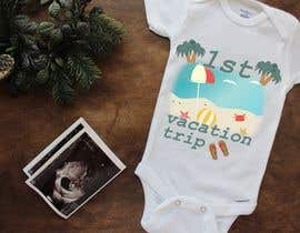 #13 for Designs for baby bodysuits by wassimkroud