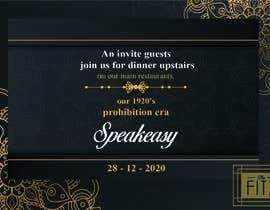 #32 for Speakeasy Invitation af NazMalik004
