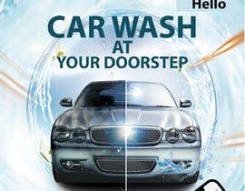 #12 for Building high professional poster for car wash mobile application by Showkothossain