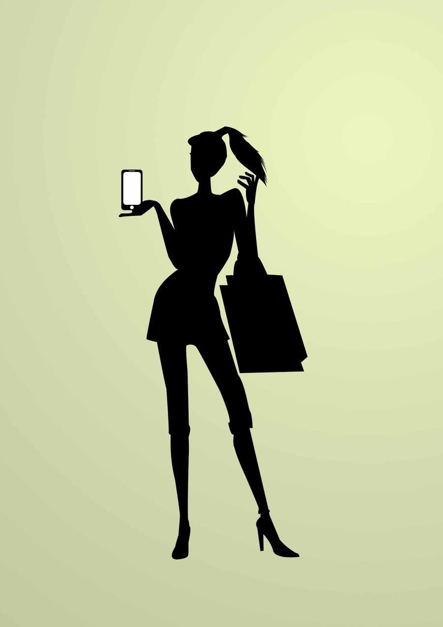 Penyertaan Peraduan #                                        36                                      untuk                                         Logo Design for iPhone bling and repair store targeted towards women