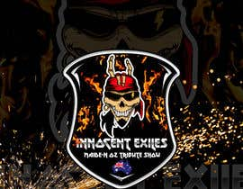 #26 for Create a logo design for our Music group Innocent Exiles - Maide-n Oz Tribute Show af Hazemwaly1981