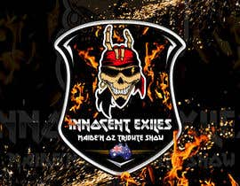 #42 for Create a logo design for our Music group Innocent Exiles - Maide-n Oz Tribute Show af Hazemwaly1981