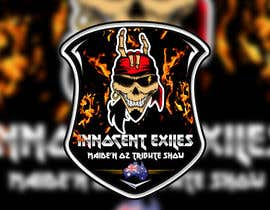 #43 for Create a logo design for our Music group Innocent Exiles - Maide-n Oz Tribute Show af Hazemwaly1981