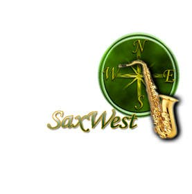#5 for Logo Design for SaxWest band af w21