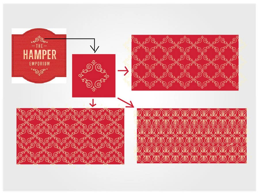 Participación en el concurso Nro.53 para Print & Packaging Design for The Hamper Emporium - http://thehamperemporium.neto.com.au