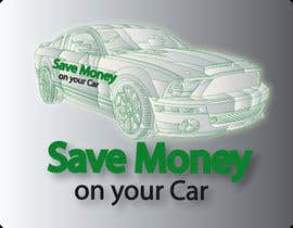 #34 para Logo Design for Save Money On Your Car por faxcel