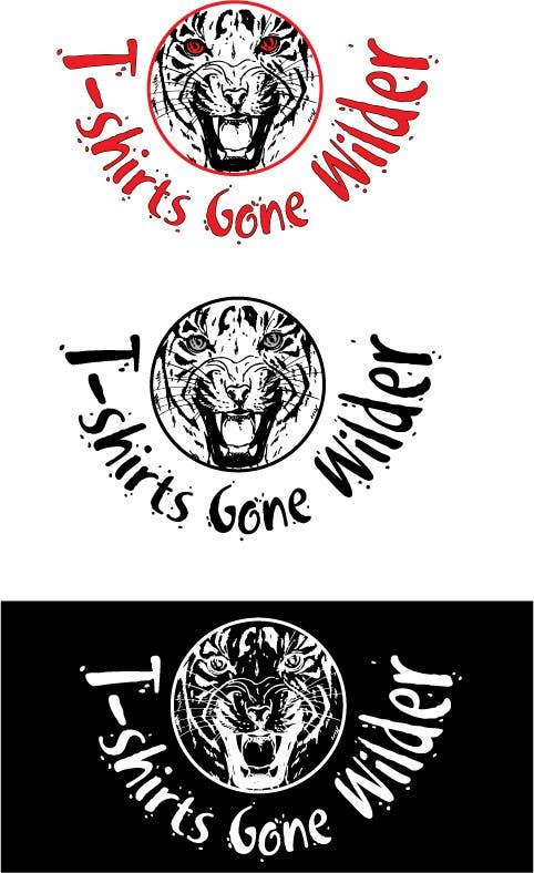 Penyertaan Peraduan #                                        5                                      untuk                                         Logo Design for T-shirt Company