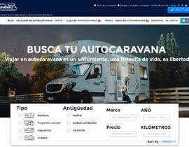 nº 65 pour Design a website for a Motorhome selling company par SidAhmed7
