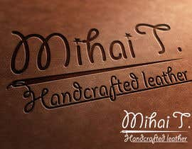 #39 untuk Logo Design for handmade leather products business oleh reynoldsalceda