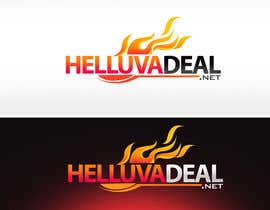#116 para Logo Design for helluva deal por pinky