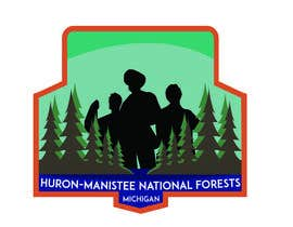 #2 для Design a Patch featuring the As Sable River  and the Huron-Manistee National Forests от tabitaprincesia