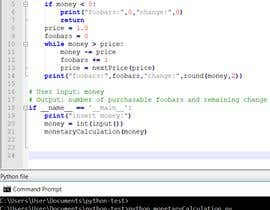 #9 for Write a Python code for three different tasks by marcellomon
