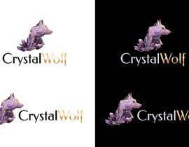 #143 untuk Design a Crystal Wolf Logo for new Crystal Inspired Business oleh stefaniamar