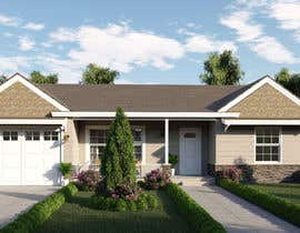 #5 cho 3D Renderings House Front Elevation bởi M13DESIGN