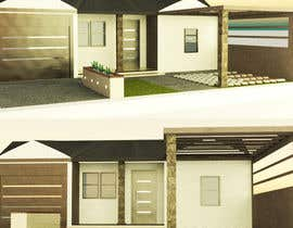 #7 cho 3D Renderings House Front Elevation bởi Caridev