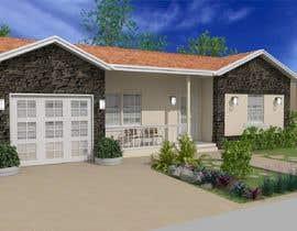 #60 cho 3D Renderings House Front Elevation bởi patoalejo72