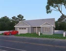 #16 cho 3D Renderings House Front Elevation bởi dodyardiansyah