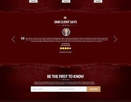 #16 for Home Page Mockup For Antique Store Website by nikil02an
