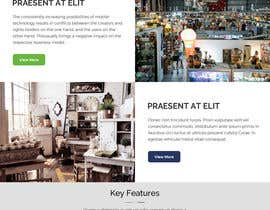 #20 for Home Page Mockup For Antique Store Website by anusri1988