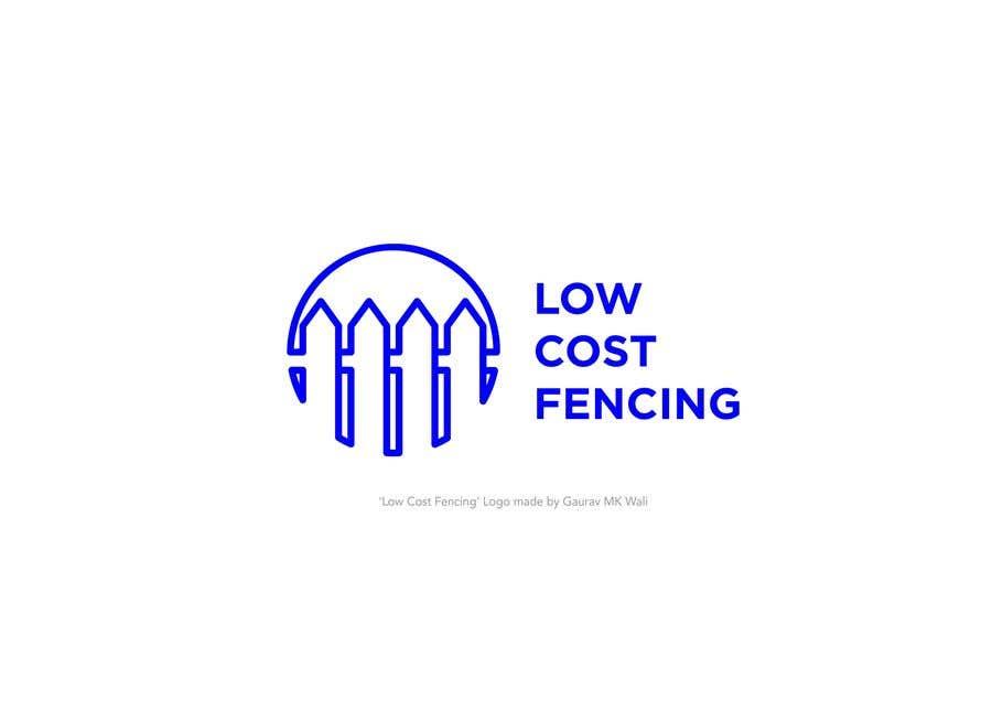 Penyertaan Peraduan #261 untuk Low Cost Fencing Logo