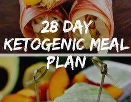 """#83 untuk create an ebook cover design for my """"28 Day Ketogenic Meal Plan"""" oleh smsmaruf014"""