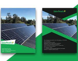 #86 for Design me a single page back & front advertisement pamphlet for my solar installation company af freelanceworldin