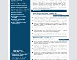 #19 for Update my Resume Design by aishajawed