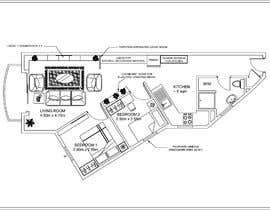 Nro 32 kilpailuun Re-design an apartment käyttäjältä kalpeshbathija