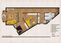 Graphic Design Конкурсная работа №36 для Re-design an apartment