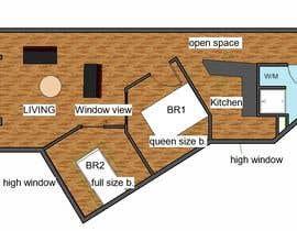 Nro 30 kilpailuun Re-design an apartment käyttäjältä arquijff