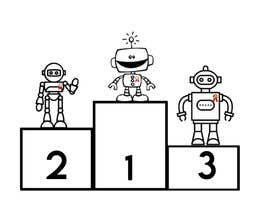 #5 cho Robots on the podium winning Gold/Silver/Bronze Medals bởi ahmadmajed99