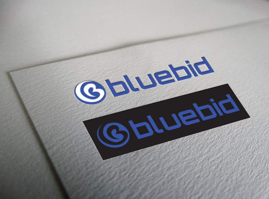 Inscrição nº 12 do Concurso para BlueBid Logo ideas