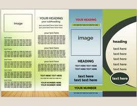 Nro 12 kilpailuun Build me a Brochure käyttäjältä fardiaafrin