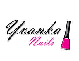 #26 untuk Ontwerp een Logo for YvankaNails oleh francodelera