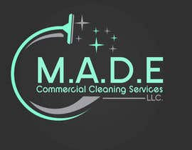 asifislam7534 tarafından Need logo done for Cleaning Business. Company name is M.A.D.E Commercial Cleaning Services LLC. Company cleans offices in commercial buildings such as banks, daycares, doctor offices, corporate offices, schools.  Vacuums, brooms and mops are used. için no 11