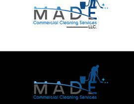 asifislam7534 tarafından Need logo done for Cleaning Business. Company name is M.A.D.E Commercial Cleaning Services LLC. Company cleans offices in commercial buildings such as banks, daycares, doctor offices, corporate offices, schools.  Vacuums, brooms and mops are used. için no 19