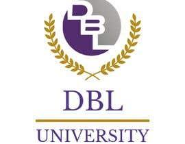 "norhaneldeeb55 tarafından Design a logo for law firm program ""DBL University"" için no 3"