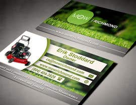 #13 cho Design some Business Cards for Lawn Care Business bởi AlexTV