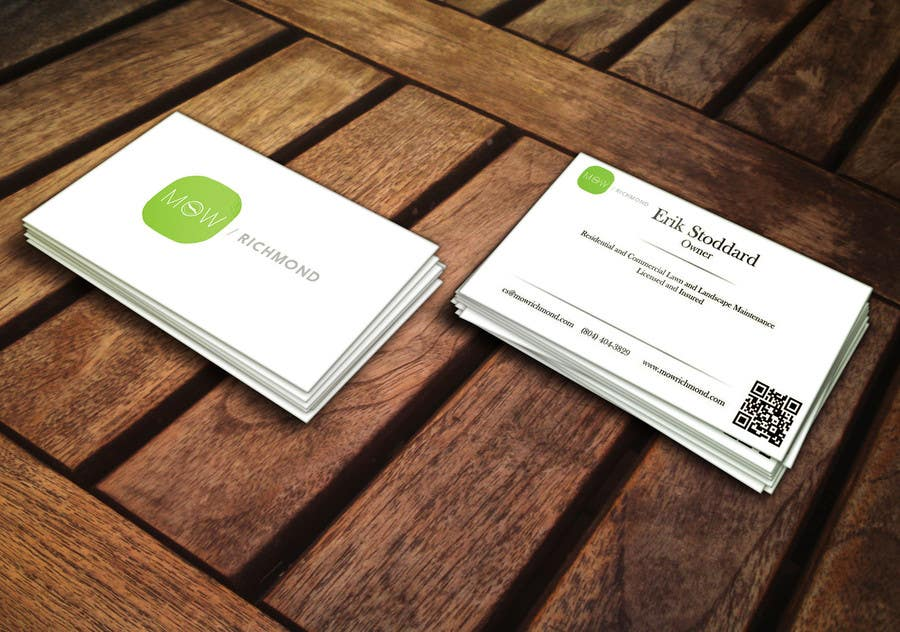 Bài tham dự cuộc thi #                                        1                                      cho                                         Design some Business Cards for Lawn Care Business