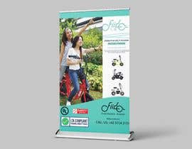 #55 for vertical banner for scooter by apnchem