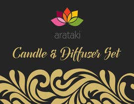 #8 для Candle and Diffuser set package design от vivekdaneapen