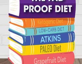 #57 for The Fad Proof Diet Book Covers by hristina1605
