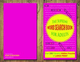 #33 for Supreme Word Search Book Cover by nazrananahrin
