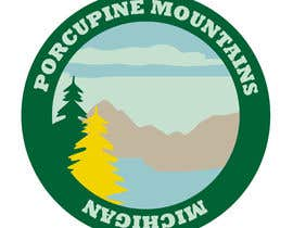 #3 for Design a Patch for the Porcupine Mountains / Lake in the Clouds by luisinatrbl