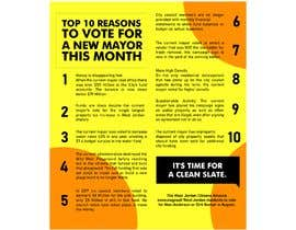 #10 for Top 10 Reasons for a new Mayor ad by joengn