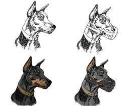 berragzakariae tarafından Draw a Dobermann Pinscher with a Muzzle için no 13