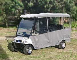 focusbilal tarafından photoshop weather curtains on to long golf cart için no 6