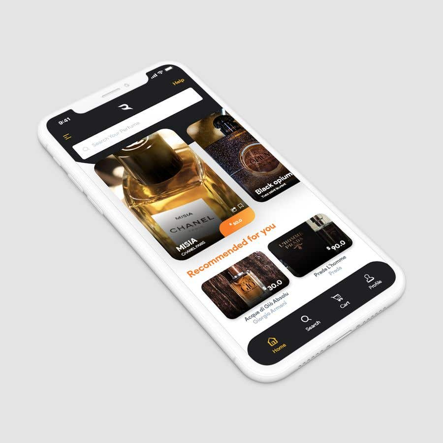App Di Design entry #39 by khouloudmaamouri for app design | freelancer