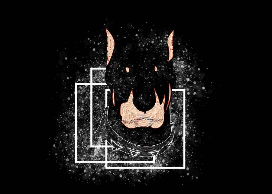 Конкурсная заявка №29 для I need a colorful clean graphic of a dog face similar to the attached for T-shirt. Underneath graphic should read BigDawgTalk