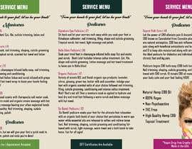 nº 2 pour Need a TriFold Brochure design for Nail Salon par Win112370